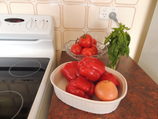 Ready to make a pasta sauce