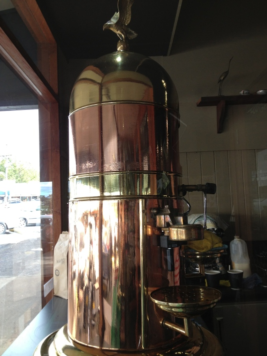 Beautiful coffee machine